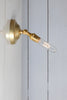 Brass Wall Sconce Adjustable