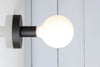 Matte Flat Black Wall Sconce