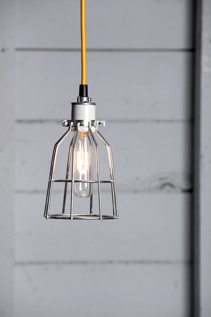 Cage Light Pendant   Metal Cage Lamp