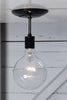 Semi Flush Mount Industrial Ceiling Light - Industrial Light Electric - 1