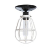 Modern Cage Light - Ceiling Mount - Industrial Light Electric - 4