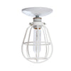 Modern Cage Light - Ceiling Mount - Industrial Light Electric - 3