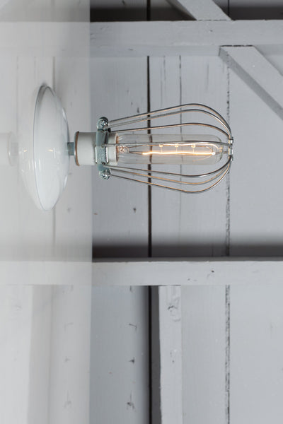 Cage Wall Sconce Light - Industrial Light Electric - 1