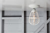 Modern Cage Light - Ceiling Mount - Industrial Light Electric - 5