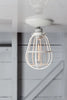 Modern Cage Light - Ceiling Mount - Industrial Light Electric - 1