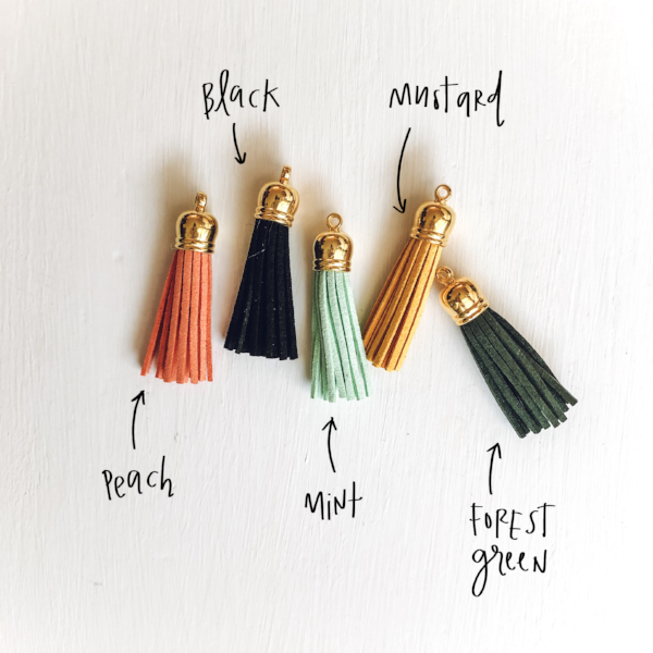 Tassle Add-On for Keychains and Lobster Clasps