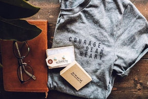 Courage, Dear Heart Short Sleeve Tee