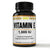 POWERFUL AND PURE Vitamin E 1,000 IU Liquid Softgels, Natural Antioxidant Non-GMO
