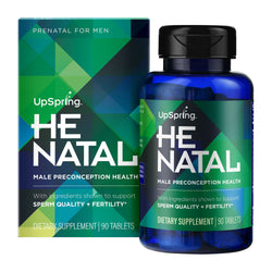 UpSpring Launches HeNatal Preconception Vitamin for Men