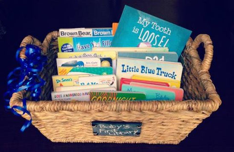 Baby Shower Gift Idea - Basket of Books