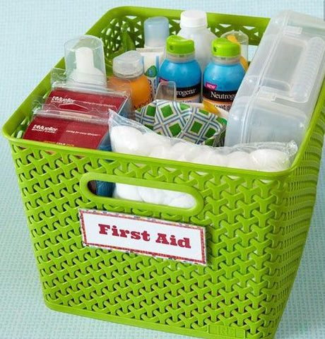 Shower Gift Aid - First Aid Basket
