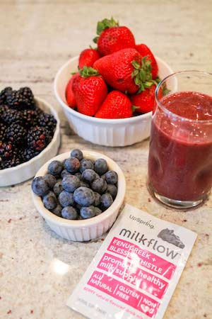 Milkflow Fenugreek Berry Smoothie