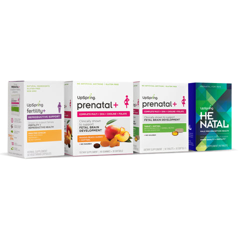UpSpring Prenatal and Preconception Supplements For Men and Women Fertility