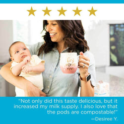 UpSpring Milkflow Lactation Coffee Pods