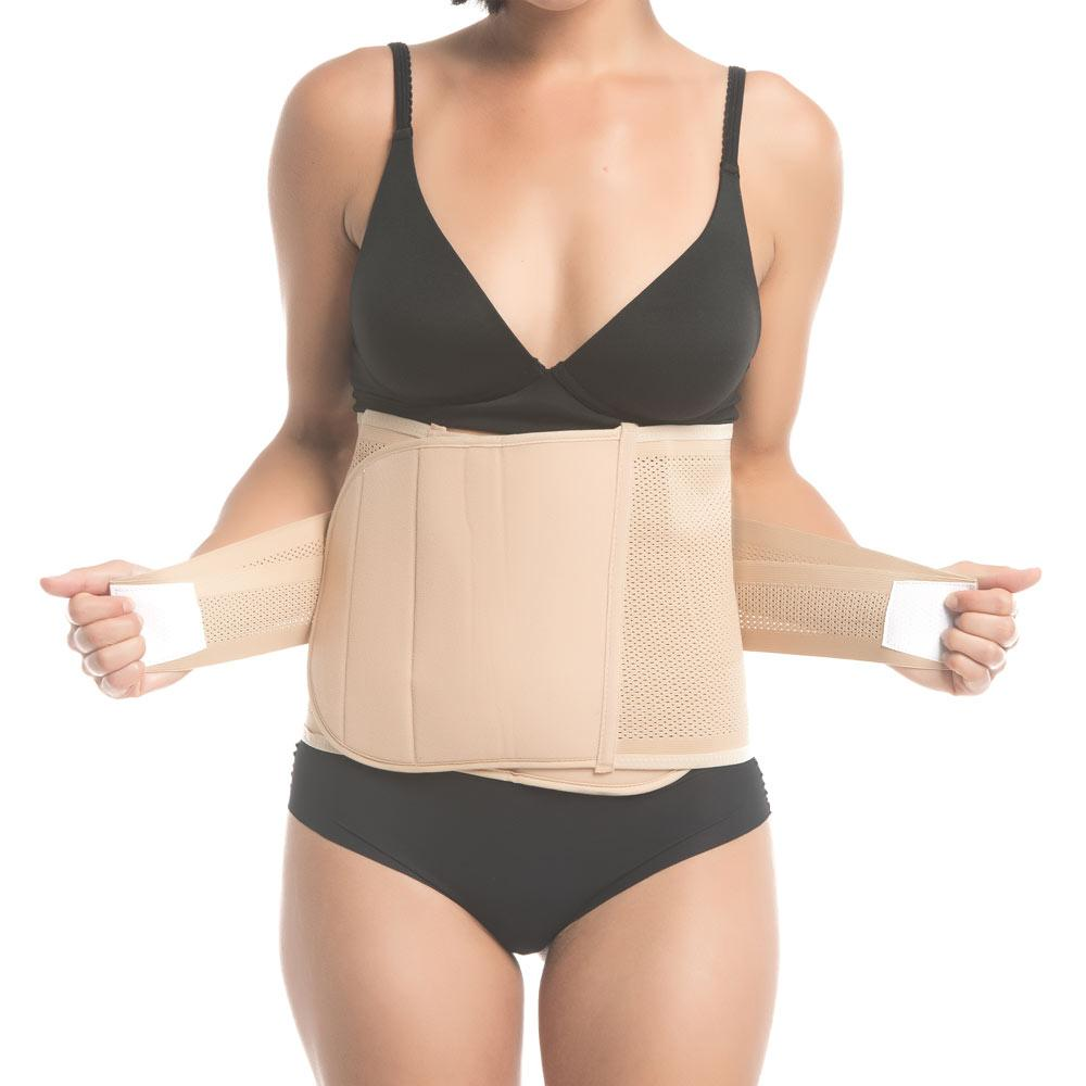 Shrinkx Belly Postpartum Belly Wrap in Beige