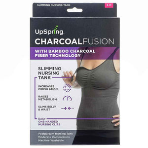 UpSpring Charcoal Fusion Breastfeeding Nursing Tank