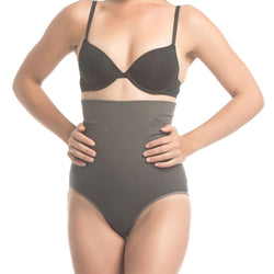 Charcoal Fusion Belly Slimming High Waist Panty