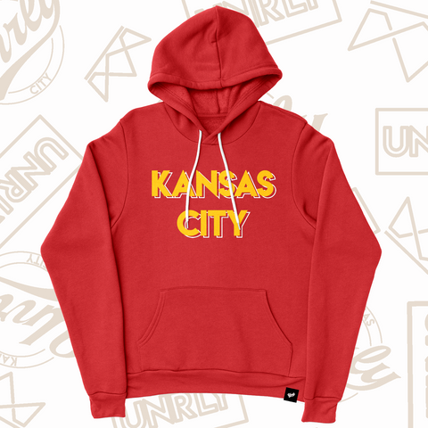 HOMETOWN HOODIE-RED - UNRLY