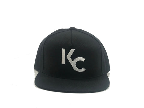 """NEW KC"" SNAP BACK - BLACK - UNRLY"