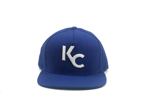 """NEW KC"" SNAP BACK - ROYAL BLUE - UNRLY"