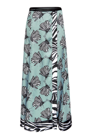 MAGPIE MOTH WRAP SKIRT