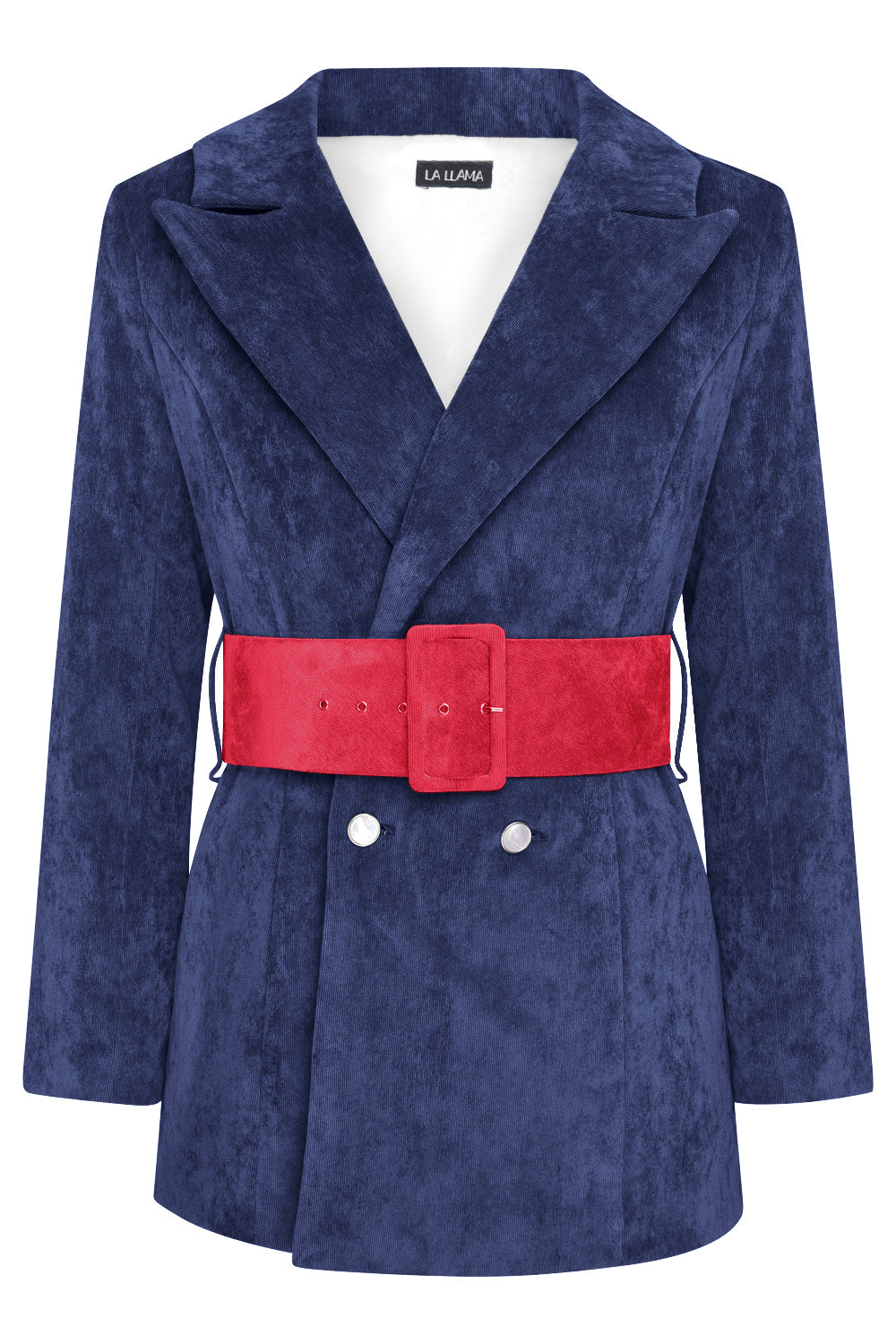 HYDRA BLAZER - NAVY WITH RED BELT