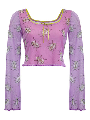 LOVEBUG BELL SLEEVE TOP