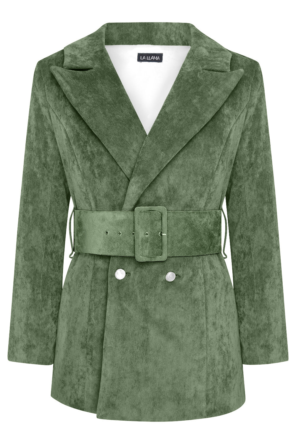 LUNA BLAZER -  BOTTLE GREEN