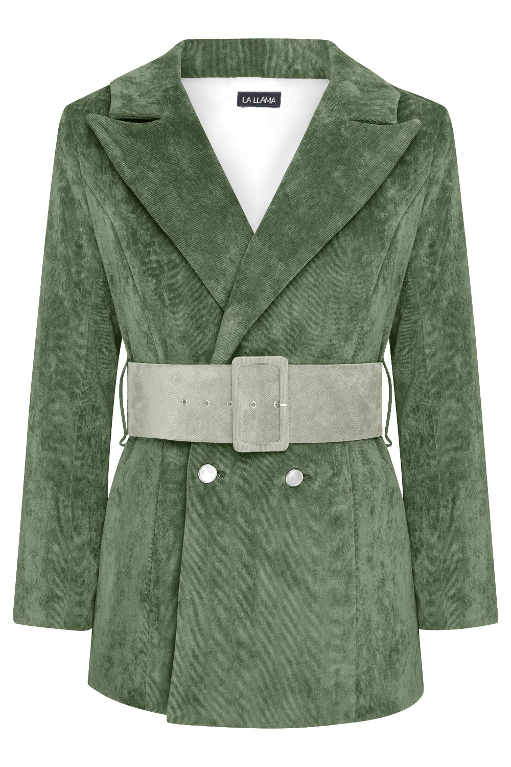 HYDRA BLAZER - BOTTLE GREEN WITH SAGE GREEN BELT