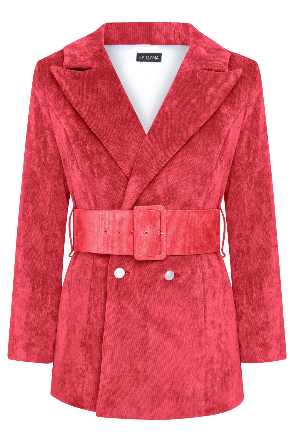 LUNA BLAZER -  BERRY RED