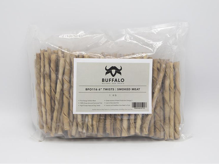 "Buffalo 6"" Twists Smoked Meat (1kg)"