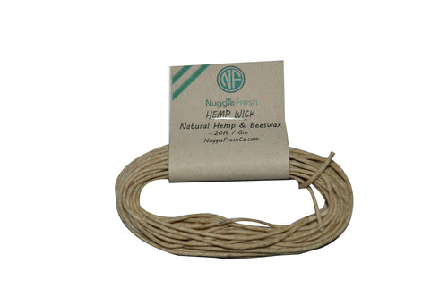 Nuggie Fresh Hemp Wick (20FT)