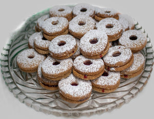 Almond Linzer Cookie