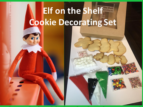 Elf on the Shelf Cookie Decorating Set