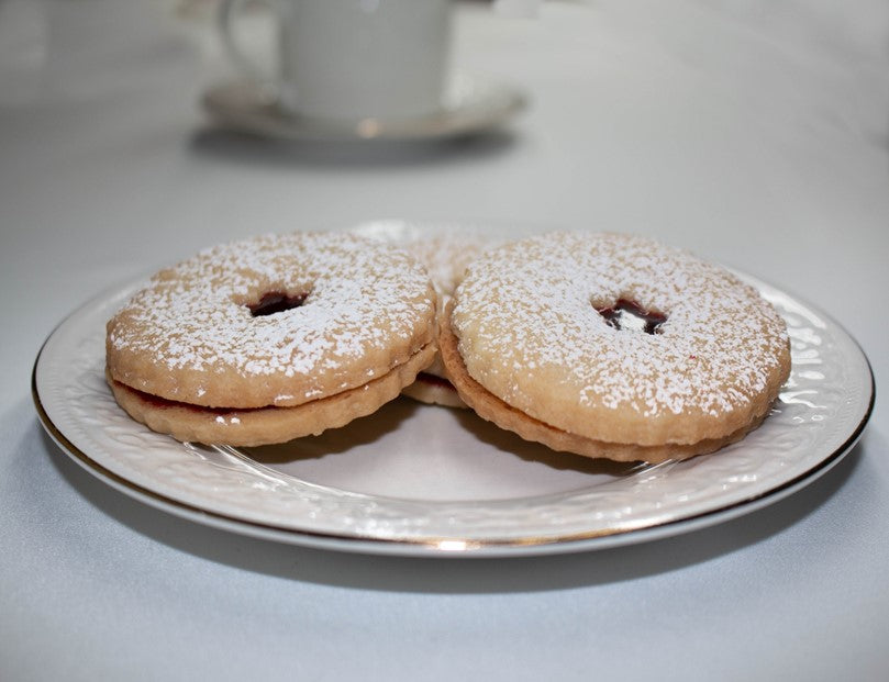 Shortbread Linzer Sandwich Cookie