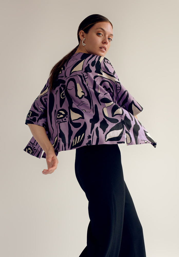 Purple Leonore Shirt