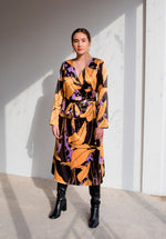 Plantae Wrap Dress