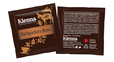 Kienna Pods Backpackers Brew