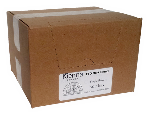 Kienna Pods Fair Trade Organic Dark Blend