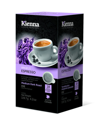 Kienna Coffee - Angel's Espresso (ESE pods)