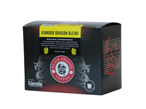 Black Dragon KCUP - Komodo Dragon Blend