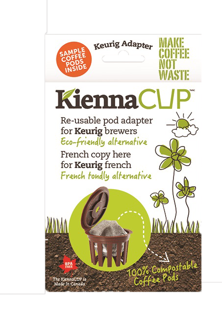 KiennaCUP Adapter (With Sample Pack)