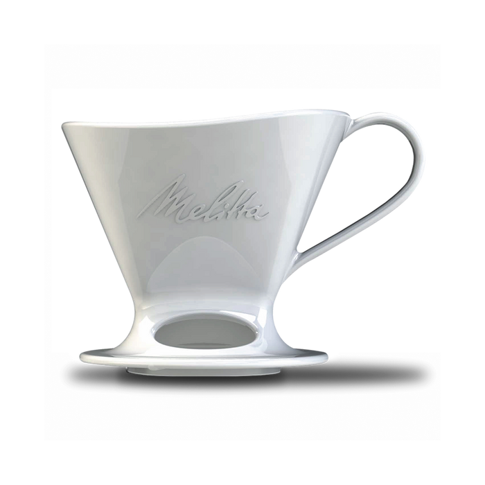 Signature Series 1-Cup Pour-Over Coffeemaker - Porcelain, White