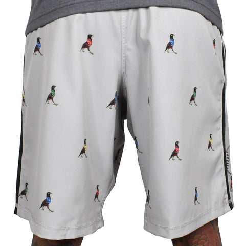 Men's 'Aloha Friday - Myna' Hybrid Shorts