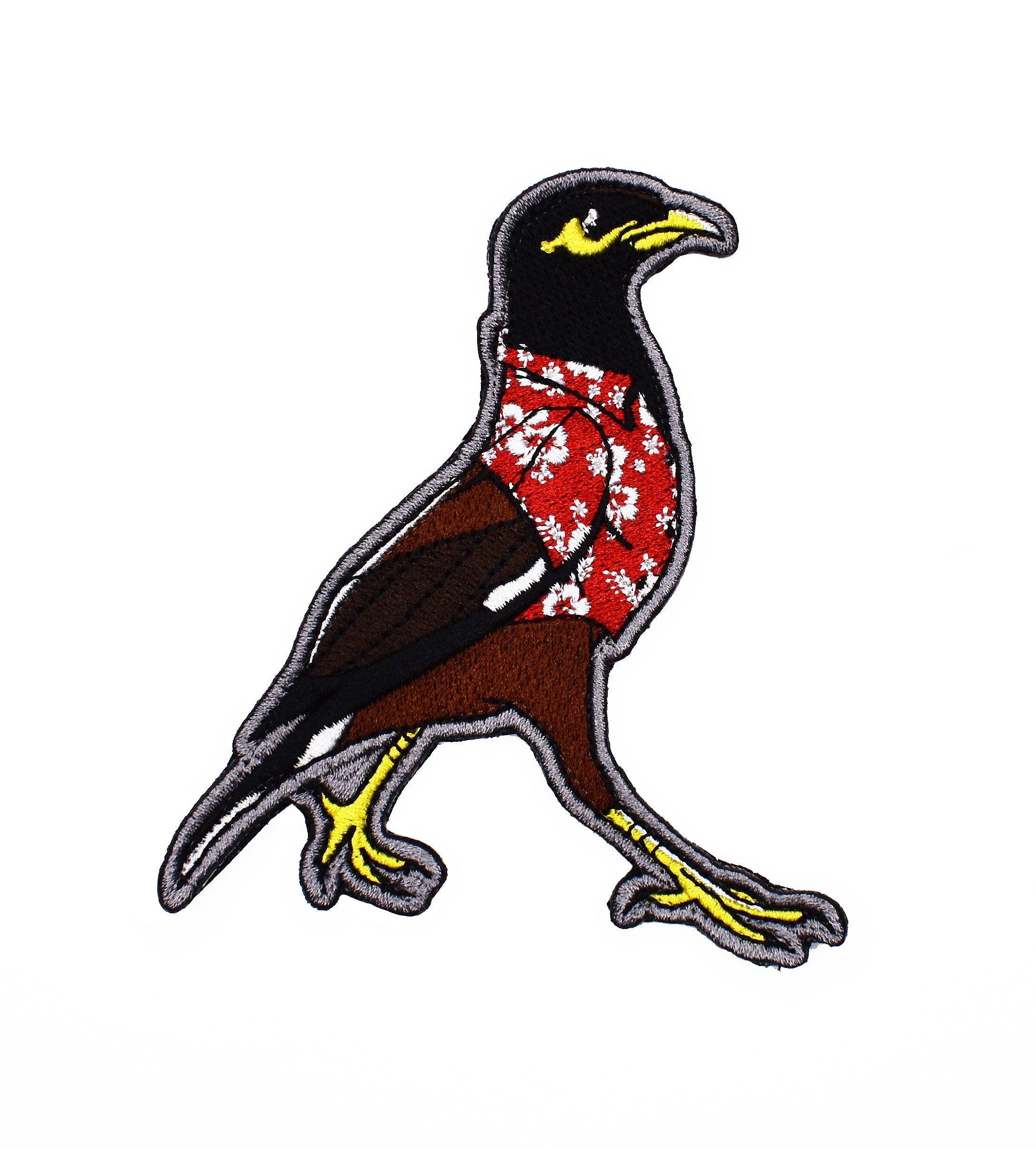 Embroidered 'Aloha Friday - Myna' Velcro Patch