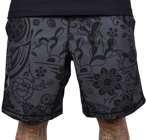 Men's 'Charcoal Dia' Hybrid Shorts