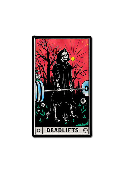 'DEADLIFTS - Tarot Card' - Sticker