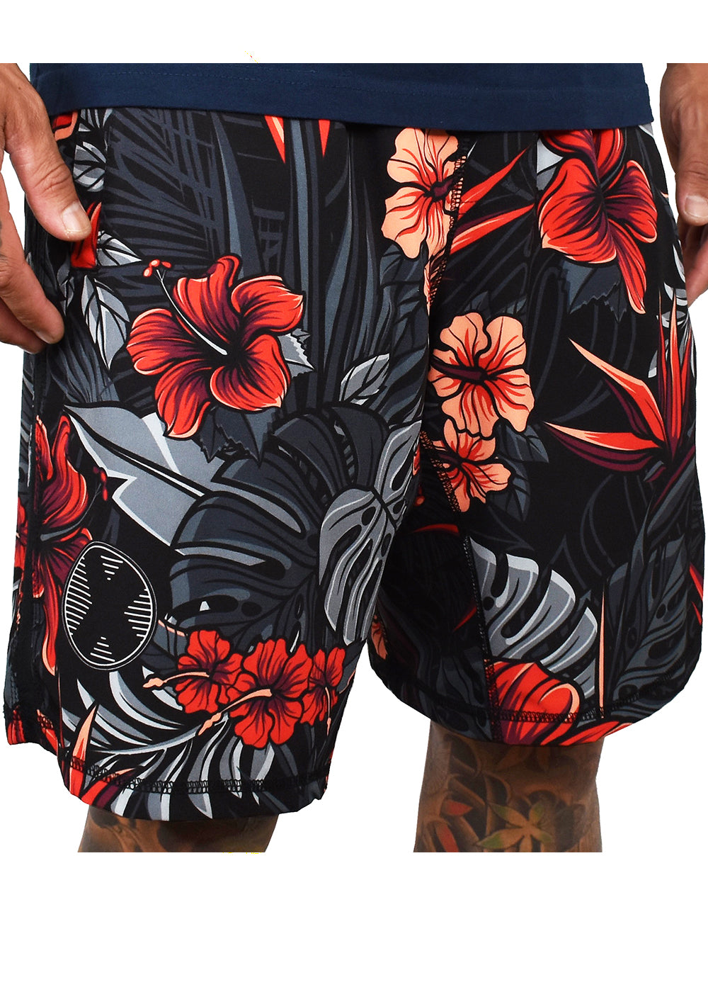 Men's 'Firebiscus' Hybrid Shorts