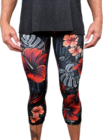 Women's 'Firebiscus' Leggings