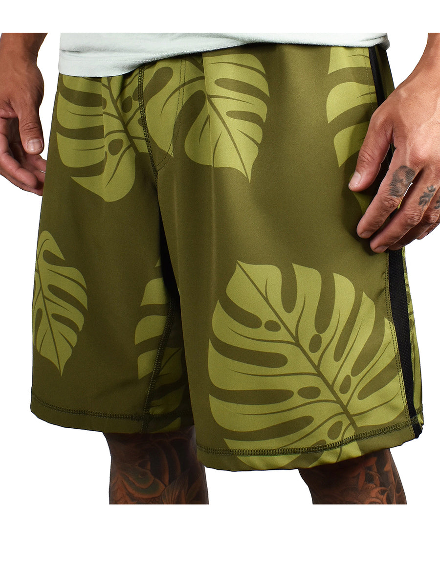 Men's 'Monstera' Hybrid Shorts - North Shore
